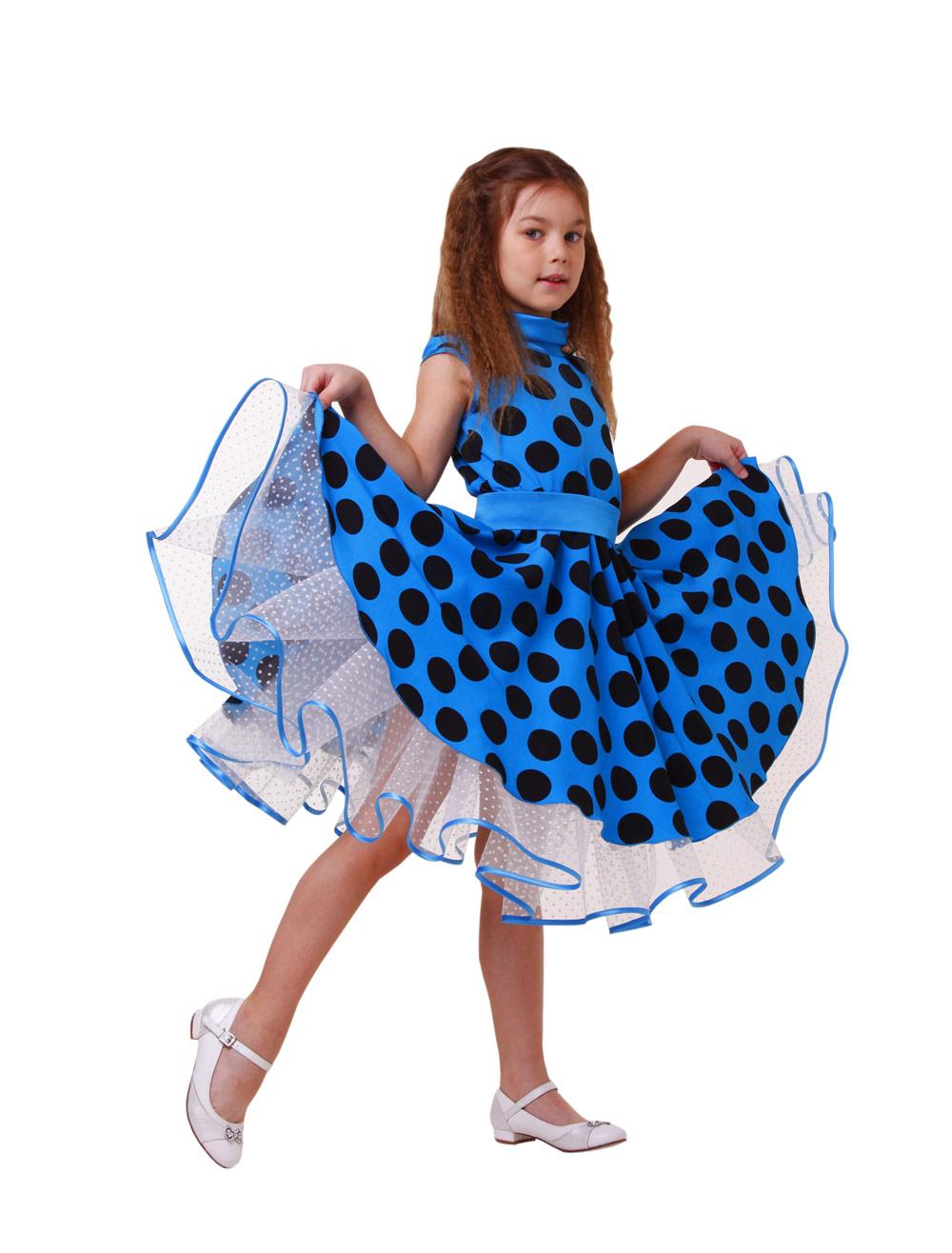 Детские платье для девочки нарядное выкройка - 665